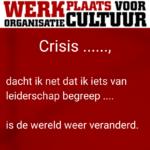 leiderschap crisis